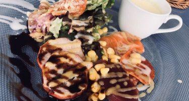 【オーシャンディッシュクオン】地上60mから東京湾を一望。東京の景色を眺めながら食べるランチ。