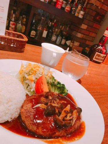 【バー コルージャ(Bar Coruja)】オシャレなBerで食べる平日ハンバーグランチ。