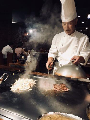 【鉄板焼き DANTE (テッパンヤキ・ダンテ)】マイケル・ジャクソンが来店!赤坂にある鉄板焼きのお店。