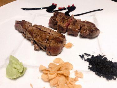 【大坂鉄板焼 銀座 鉄十】席は8席のみで予約必須。銀座東急プラザの11階で食べるコース料理がオシャレで雰囲気も抜群。値段もお手頃すぎる。