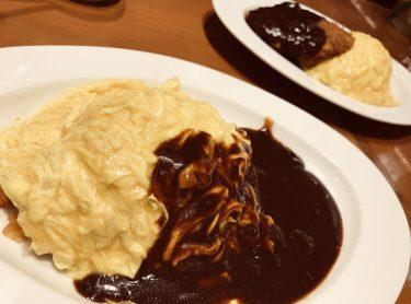 【須田町食堂 秋葉原UDX店】大人のお子様セットなどがある可愛らしい洋食屋さん。