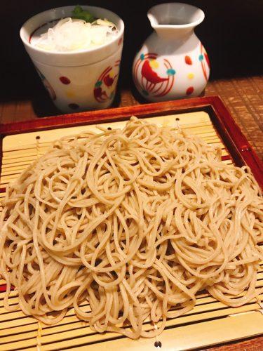【銀蕎麦國定】限定1日15食。東京都内で幻の富倉蕎麦が食べられるのはここだけ!
