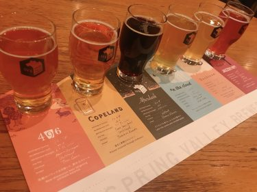 【スプリング バレー ブルワリー 横浜】大人の美味しいビールの楽しみ方独自ブランドである6種類のビールとペアリング料理を楽しむ。