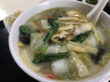 【仕事】王寺駅付近で中華料理を食べる。