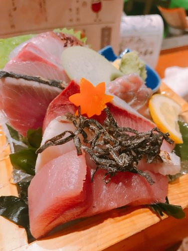【てしごと家 銀座店】新橋、銀座の飲食街から少し離れた新鮮な食材を使用した居酒屋。