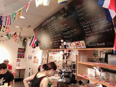 【サクラカフェ神保町】朝からお腹いっぱい。390円でパン、スープ、ドリンク食べ飲み放題。