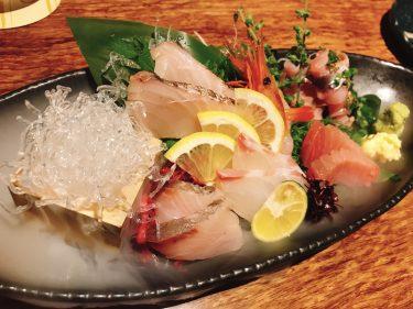 【金の独楽】野菜ソムリエが在籍する銀座の居酒屋で、美味しい旬鮮魚と日本酒、野菜のペアリングを楽しむ。