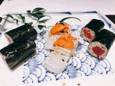 【鮨 やまけん】銀座でリーズナブルでカジュアルなお寿司のコース料理が楽しめるお店。
